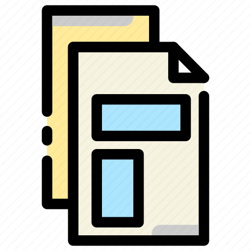 business, document, file, report icon