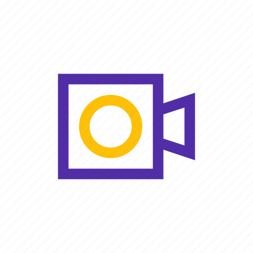 cam, camera, office, security, system, technology icon