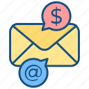 advertising, campaigns, email, email marketing, mail, marketing, promotion icon