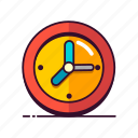 clock, office, time, business