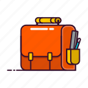 briefcase, business, office icon