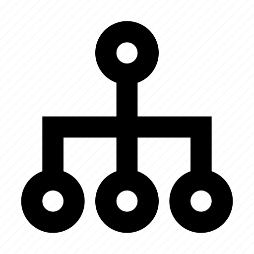 hierarchy, network, organization, sitemap, structure, workflow icon