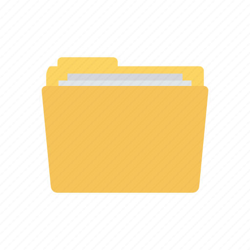 archive, directory, folder, office icon