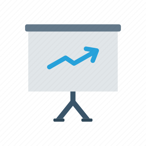 analytics, career, graph, growth icon