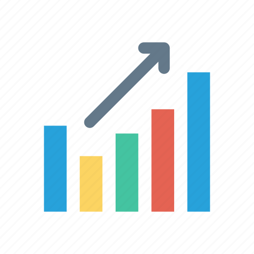 analytics, graph, growth, hacking icon
