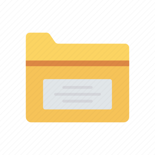 archive, directory, documents, folder icon