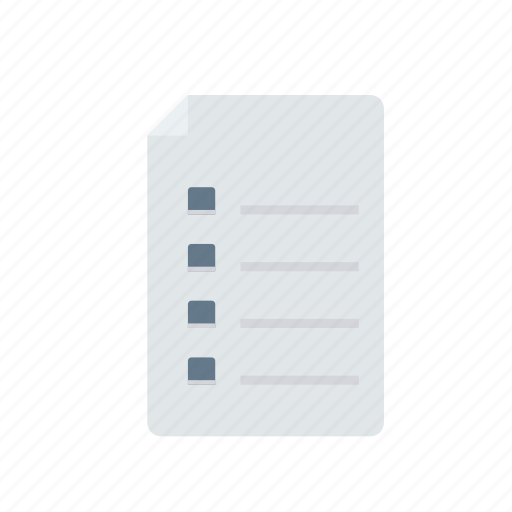 bill, document, file, list icon