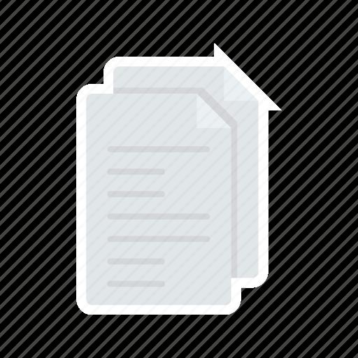 bill, document, file, invoice icon