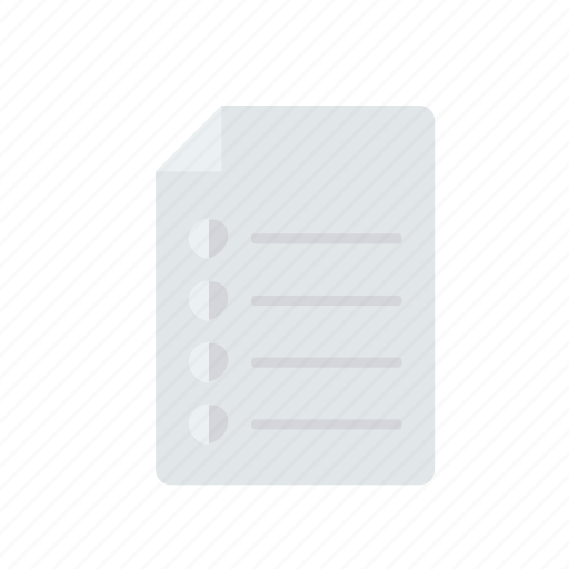 bill, doc, document, notes icon
