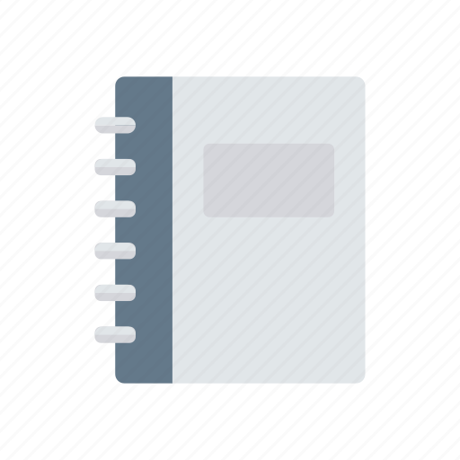 binder, book, courses, notebook icon