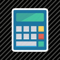 budget, calculator, mathematics, office icon