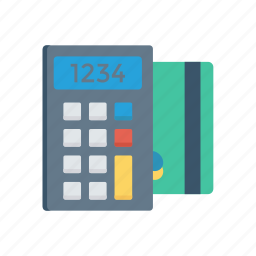 accounting, budget, calculator, math icon