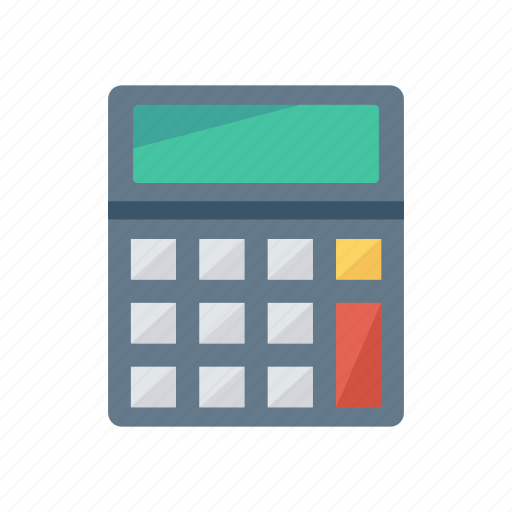 budget, calculator, education, mathematics icon