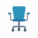 chair, home, office, room icon