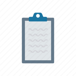 checklist, clipboard, paper, tasks icon