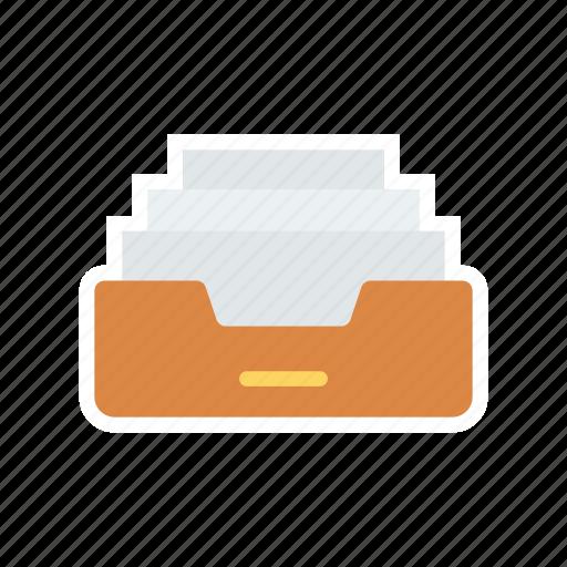 bill, document, folder, office icon