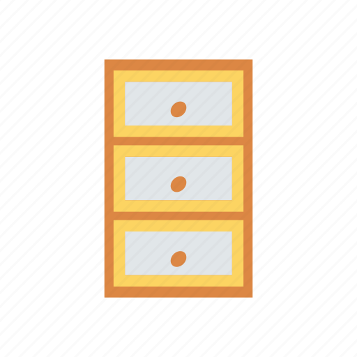 documents, drawer, files, office icon