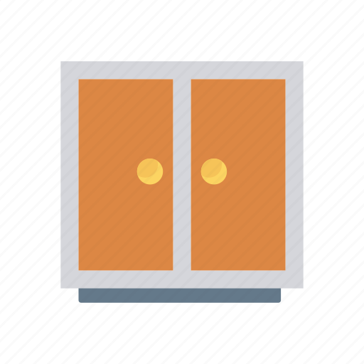 Drawer, documents, office, furniture icon