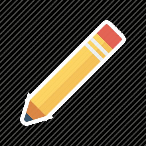 pen, pencil, work, writing icon