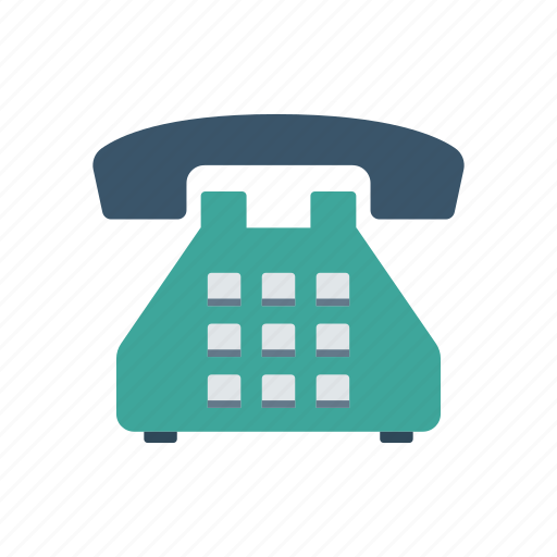 call, old, phone, telephone icon