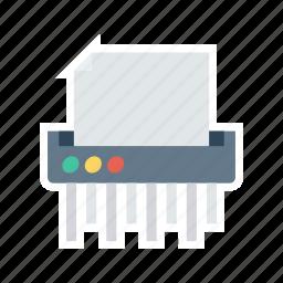 fax, office, paper, printer icon