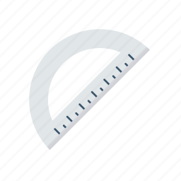 scale, school, stationery, tool icon