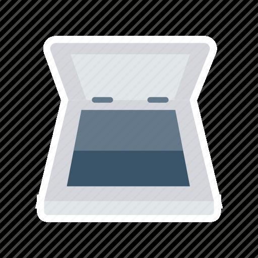 device, office, print, scaner icon