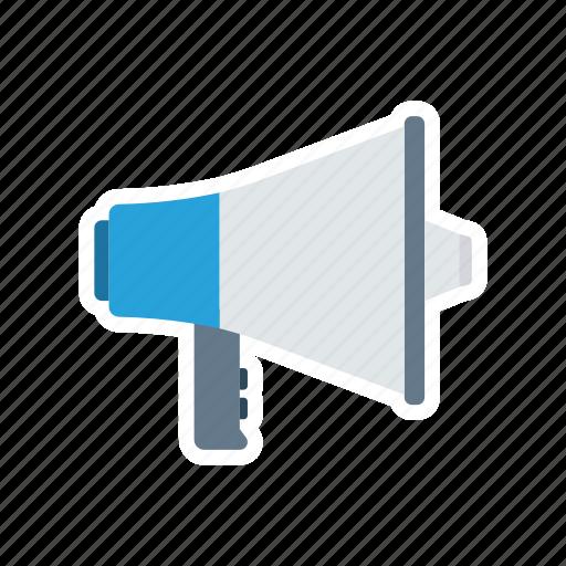 loud, marketing, megaphone, sound icon