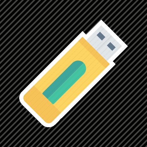 data, electronics, stick, usb icon