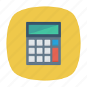accounting, calculator, mathematics, office icon