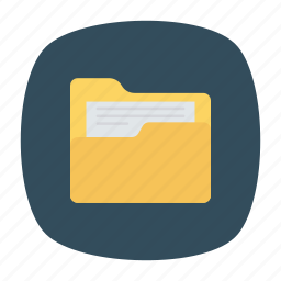 archive, docs, documents icon