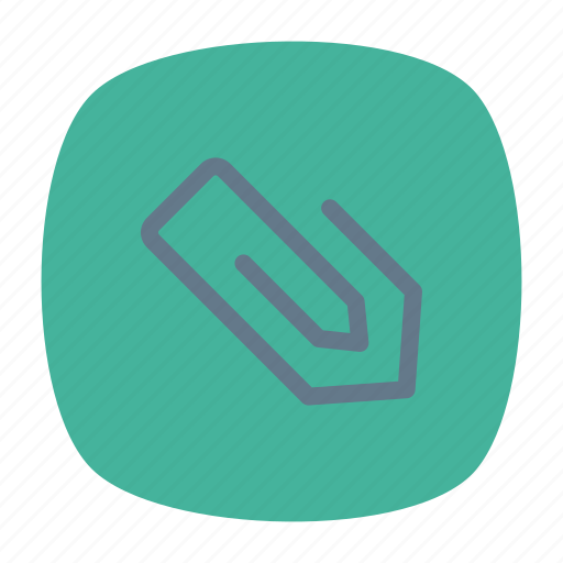 attach, attachment, clip, papers icon