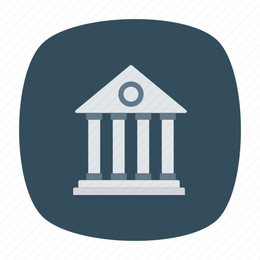 bank, building, money, safe icon