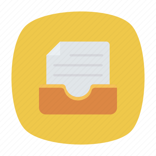 bill, document, folder, invoice icon