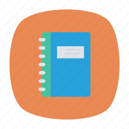 binder, notebook, office, textbook icon