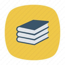 book, office, reading, school icon