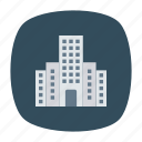 building, hotel, office, real icon