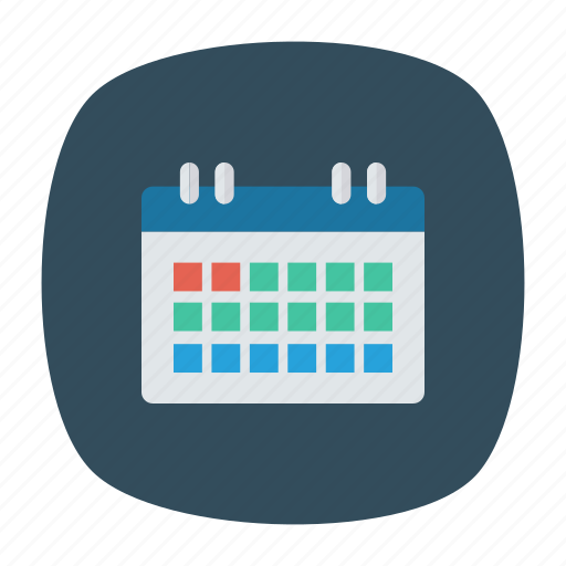 calender, event, month, year icon