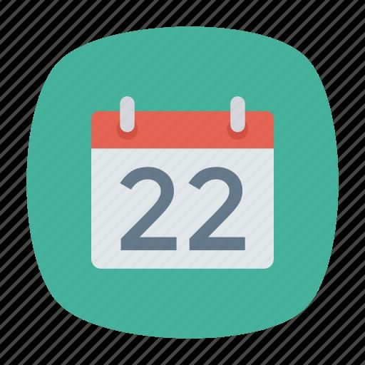 calender, month, schedule, year icon