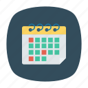 calender, event, month, schedule icon