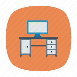 computer, desktop, office, pc icon