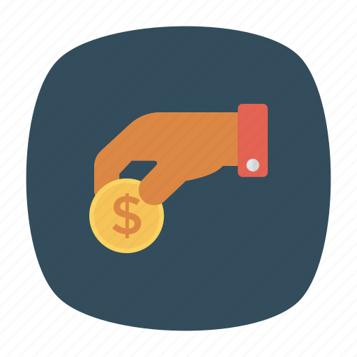 Coin, currency, dollar, money icon - Download on Iconfinder