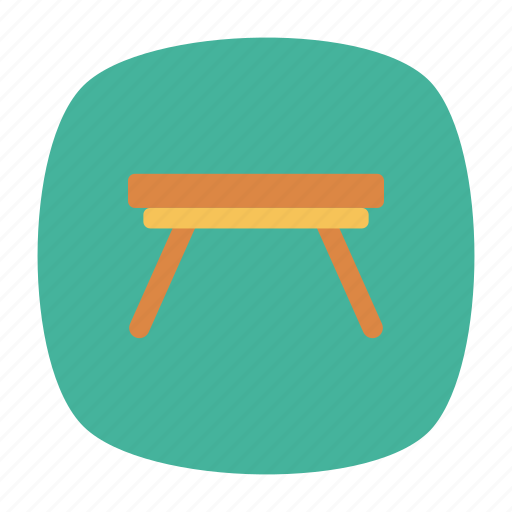 design, furniture, office, table icon