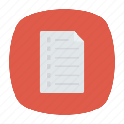 bill, document, file, note icon