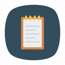 edit, list, notes, office icon