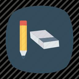 pen, pencil, school, writing icon