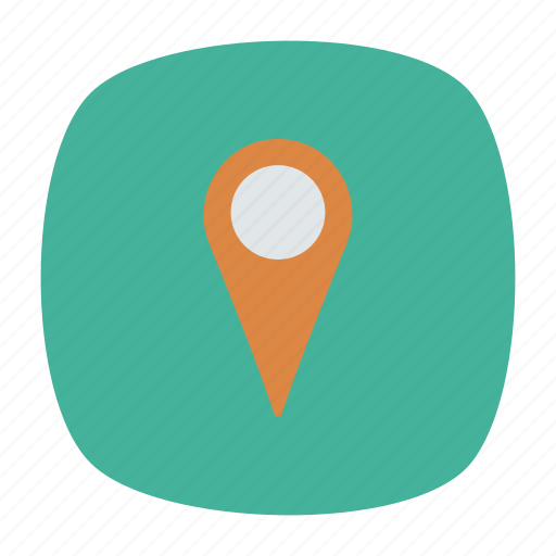location, map, pin, point icon