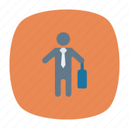 bag, boy, profile, user icon