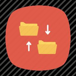 communication, folder, networl, sharing icon