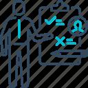checklist, customer, data, report, survey icon